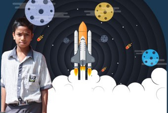 Aspiring astronomer Atharva wants to make his mother proud